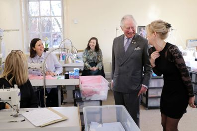 Prince Charles jokes about 'never-ending battle' with his weight during visit to his tailor
