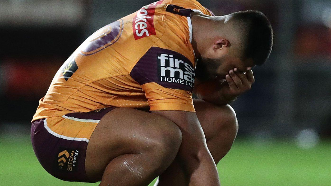 'Ashamed and extremely remorseful': Brisbane Broncos respond to star forward Payne Haas' alleged brawl, police arrest