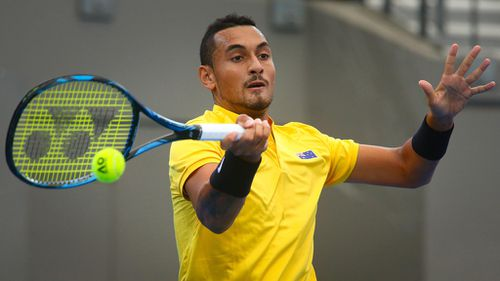 Nick Kyrgios withdraws from Italian Open due to hip injury