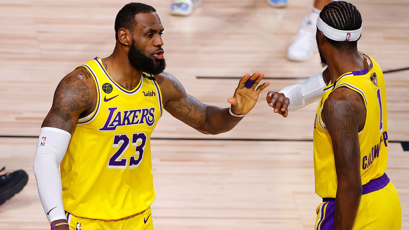 LeBron, Lakers on brink of NBA championship