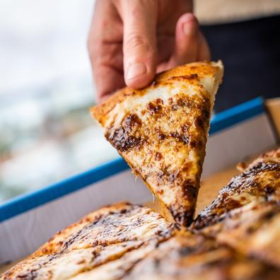 Domino's Australia Cheesy Vegemite Pizza