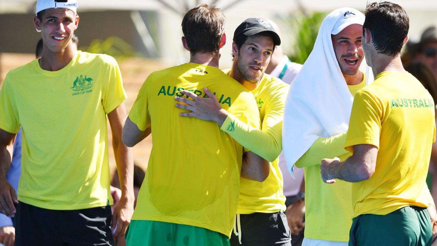Australia sweep Davis Cup tie against Bosnia Herzegovina