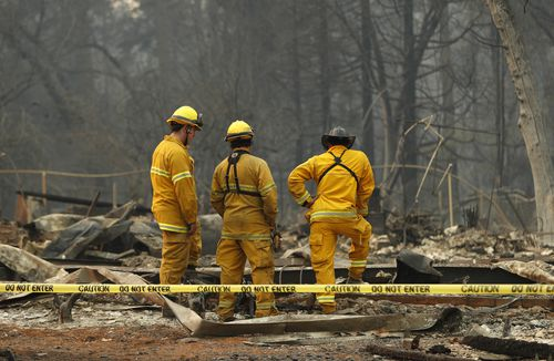 Trump's tweets have outraged celebrities, politicians and the firefighters tirelessly battling the ferocious blazes.