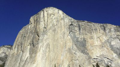 El Capitan rising over the national park. (AAP)
