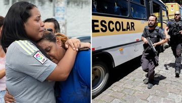 Brazil school shooting nine people killed multiple weapons
