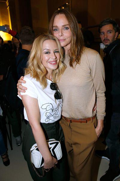 Kylie Minogue and Stella McCartney atStella McCartney Spring/Summer'18