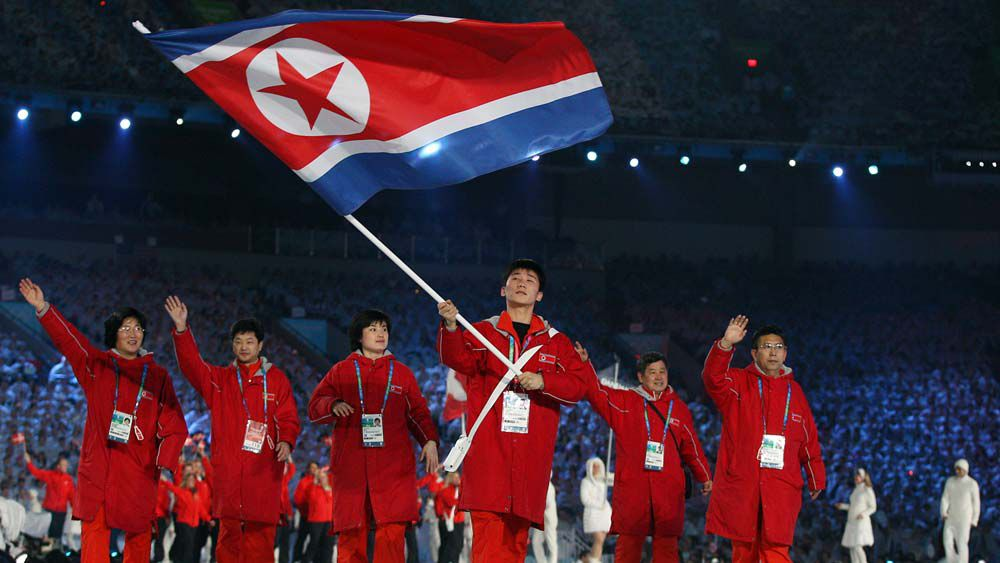 North Korea Winter Olympics team