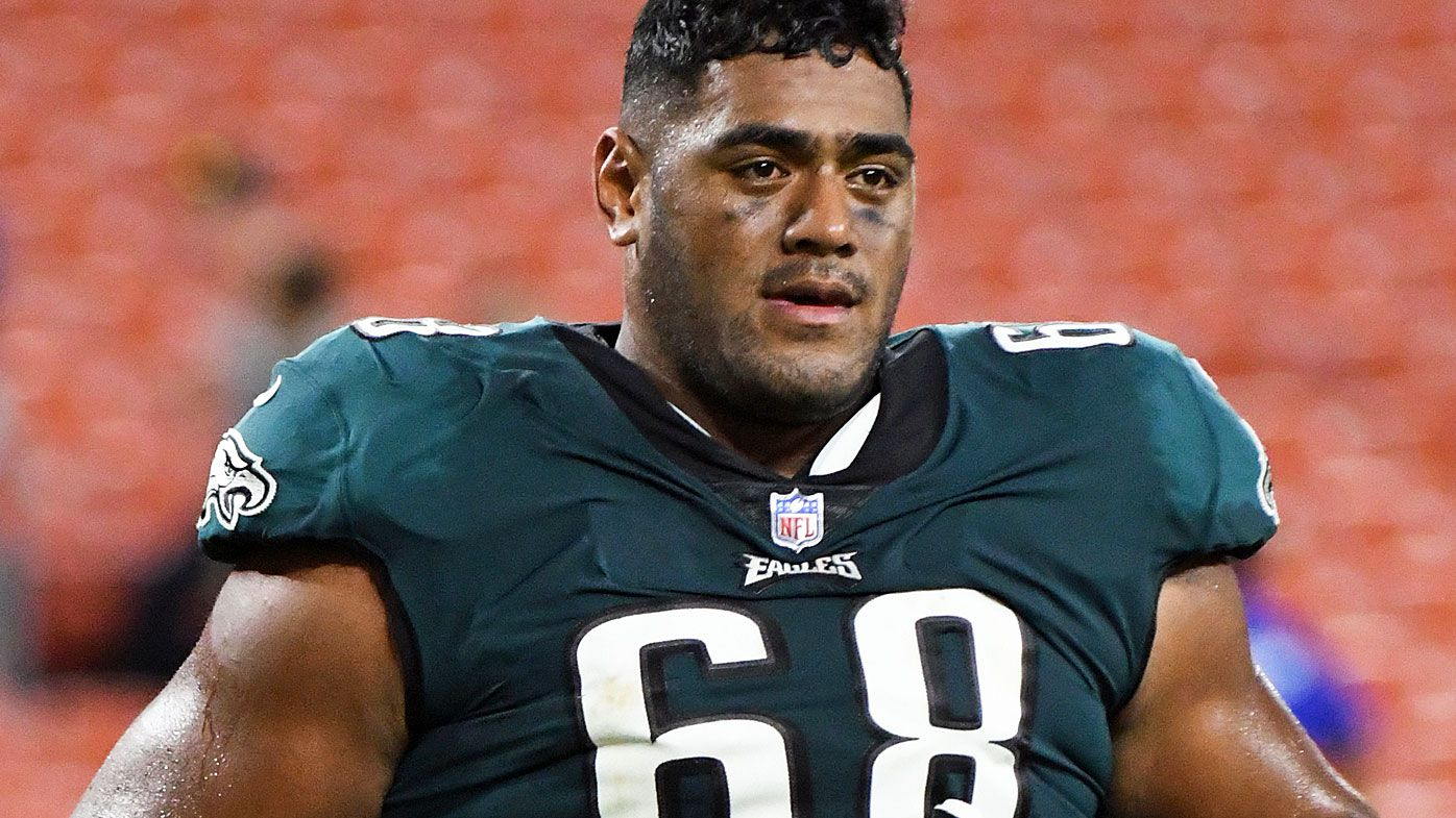 Jordan Mailata of the Philadelphia Eagles