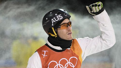 Morris was controversially eliminated from competition in PyeongChang. (AAP)