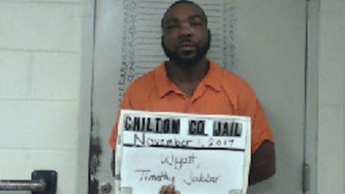 Timothy Jabbar Wyatt. Image:  Chilton County Sheriff's Office