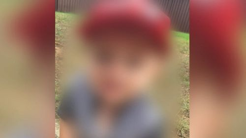 The young boy is now in the care of his grandmother. Picture: 9NEWS