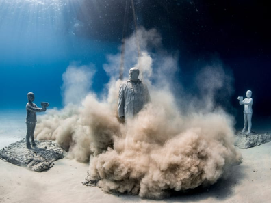 Museum of Underwater Sculpture in Cyprus (Musan)