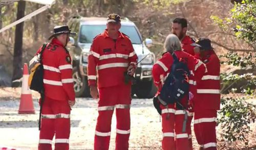SES volunteers have been taking part in the hunt for clues to find the killer of Toyah Cordingley.