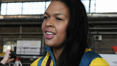 Liz Cambage, an Aussie medal prospect for the 2018 Commonwealth Games
