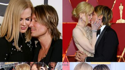 All the times Nicole Kidman and Keith Urban's PDA was too much to handle