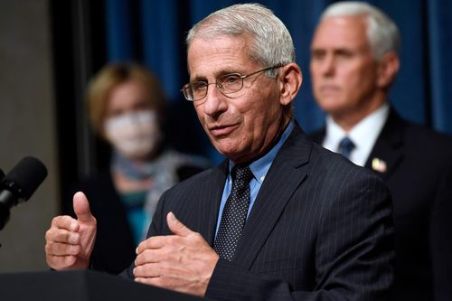 Dr. Anthony Fauci To Throw First Pitch For Washington Nationals' Season Opener
