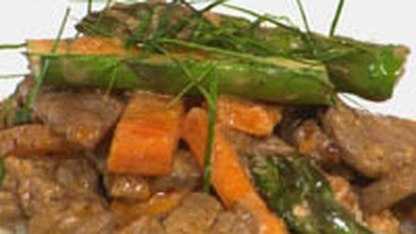 Beef and pumpkin curry