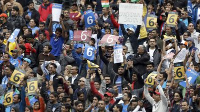 Much of the crowd was made up of expatriates from the sub-continent. (AFP)