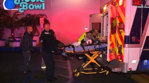 Three people have been killed and four others injured when a gunman opened fire at a California bowling alley.