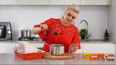 Jane de Graaff makes the easiest every Christmas ham glaze