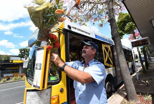 There was an outpouring of grief among bus drivers when the driver, and beloved singer, was killed. Picture: AAP