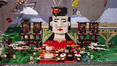 LEGO Masters 2021 Episode 1 Build Fleur and Sarah
