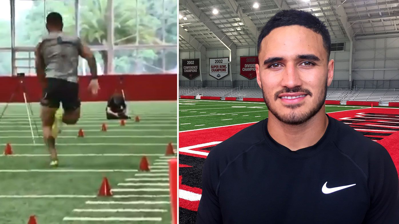 What NFL teams thought of former NRL star Valentine Holmes' pro day