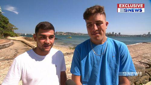 Sydney Harbour Bull Shark catch teen fishermen