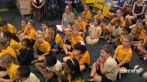 The plan, announced by Premier Annastacia Palaszczuk today would boost the reading levels and flagging test results of schoolchildren across Queensland. Picture: 9NEWS.
