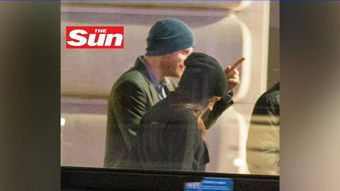 First images emerge of Prince Harry and Meghan Markle shopping together