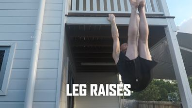 Robert Patterson's Backyard Workout