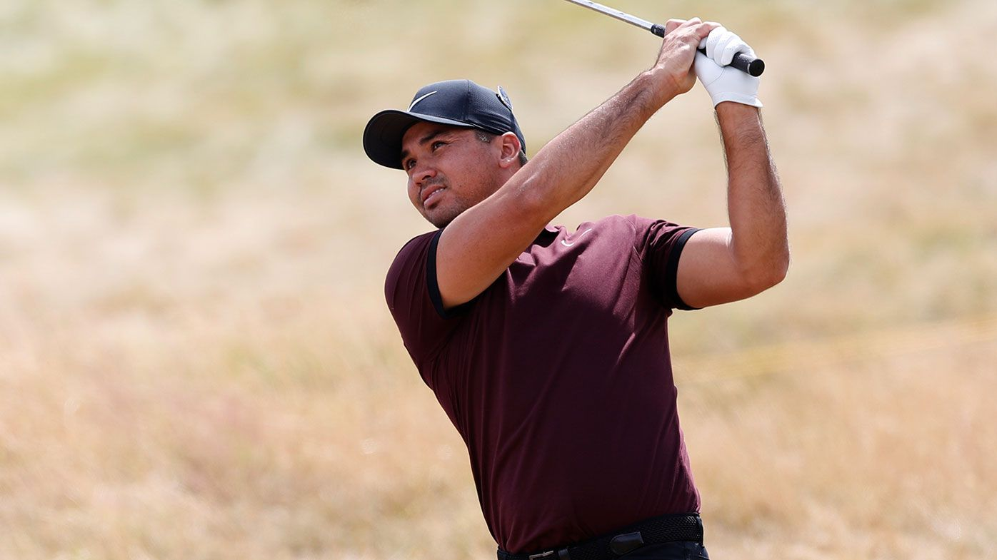 Jason Day channeling Tiger Woods at British Open