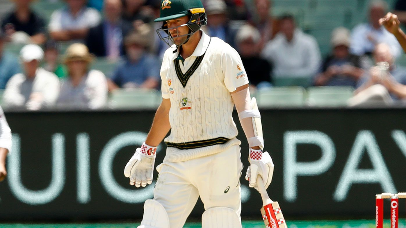 Joe Burns failed again in the second innings of the Boxing Day Test.