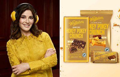 Nigella Lawson helps launch new Whittaker's Hokey Pokey flavour