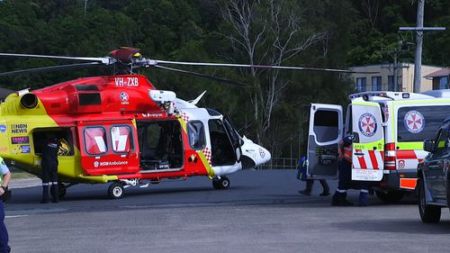 Emergency services were called to Wellington Drive, Nambucca Heads, about 7.15am today.