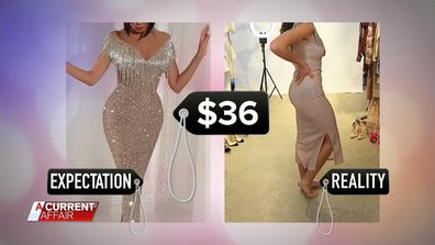 Women's Fashion online expectation v reality 7