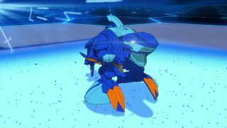 Chase the Mysterious Bakugan!/Drago in the Crosshairs!
