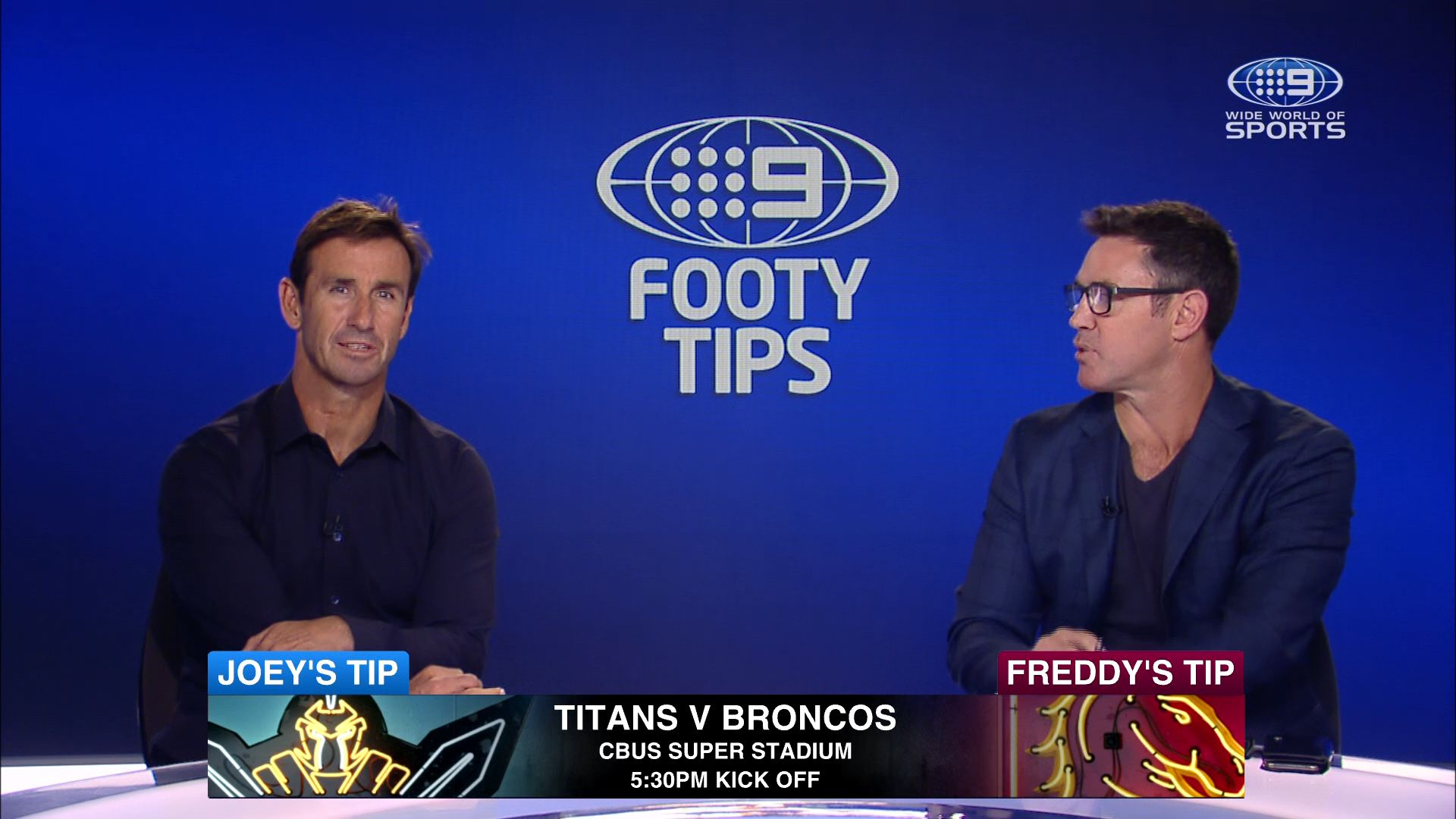 NRL footy tips Round 18: Freddy, Joey and Channel Nine's stars give their winners