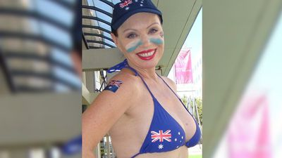 <p>A candidate for the seat of Ipswich in the upcoming Queensland election has donned a bikini in public to draw attention to her race.</p><p> Dr Patricia Petersen – a 51-year-old former model and  lecturer in economics and politics and a Fellow at the University of Melbourne - said she wanted to convey her national pride on Australia Day.</p><p><strong>Click through for more images from the Queensland election campaign trail.</strong></p>
