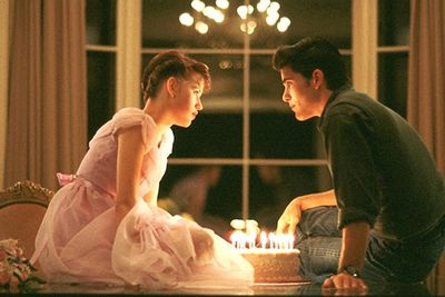 Sweet 16 has never been so sweet, and teen life has rarely been captured as realistically as it is in this John Hughes classic. Sam (Molly Ringwald) is secretly in love with high-school hunk Jake (Michael Schoeffling), but she has to fend off an uber-dork (Anthony Michael Hall) and deal with her out-there family.