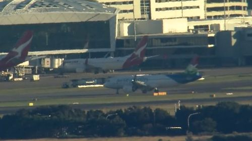 India cricket flight touches down in Sydney