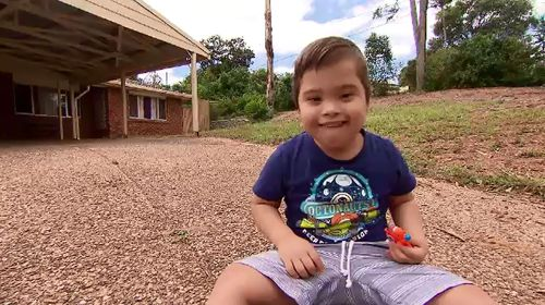 Divina's son, Victor, has Down syndrome.