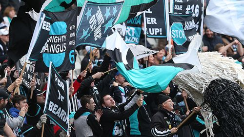 Port Adelaide membership higher than Crows for first time
