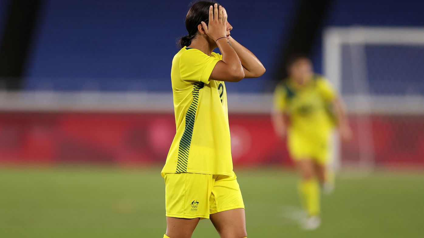 Matildas' gold medal hopes go begging, Aussies eye bronze play-off against USA