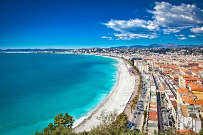South of France: Fire  Visit this region in the winter months and be rewarded with days of sea, sun, blue skies and icy powder on the slopes. Yep, you can even go swimming and skiing in the same day.   Nice offers an ideal home-base for your activities, boasting a microclimate that means it's always a few degrees warmer than other spots in the region, with surrounding hills largely shielding it from chilly winds. It's no wonder the rich flock here.