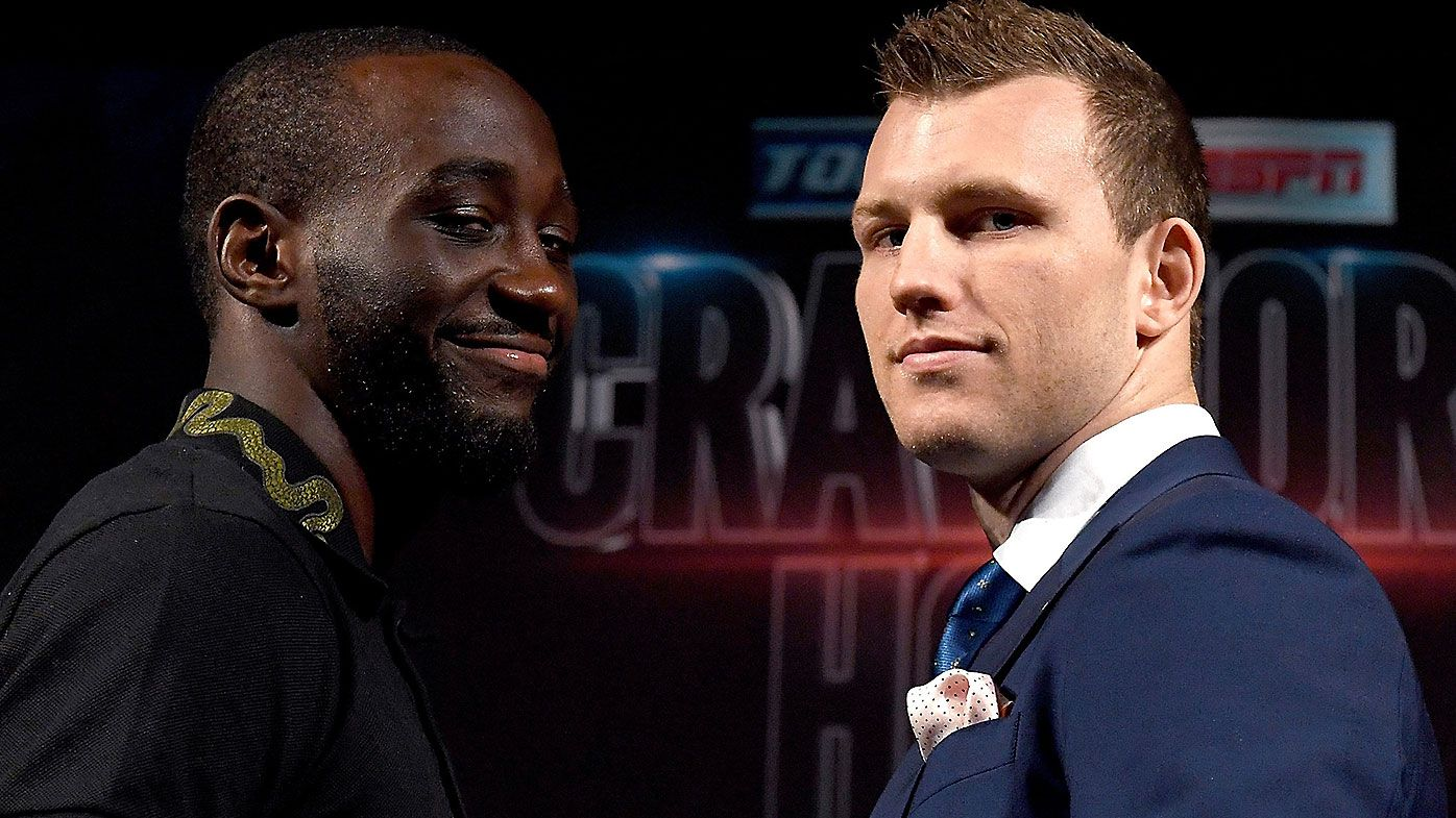 Australian WBO Welterweight champ Jeff Horn shown no love by bookies ahead of Crawford bout