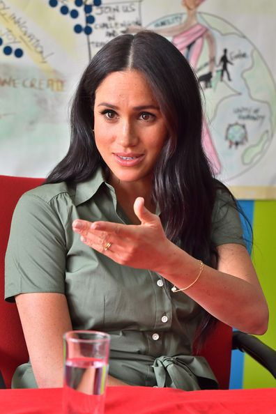 The Duchess visits Action Aid to join discussions during the royal tour of South Africa.