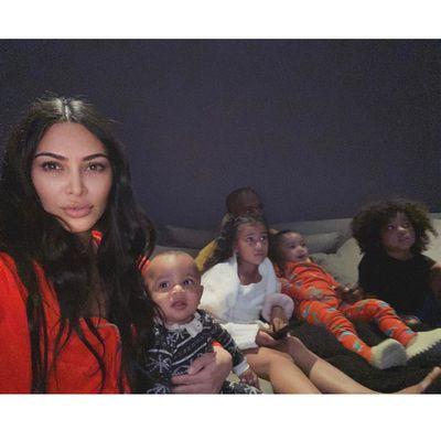 Kim Kardashian: 4 kids