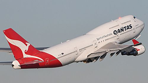 Qantas Boeing 747 flying into retirement (Getty)