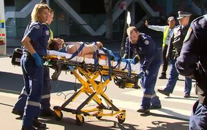 Man fights for life after being crushed by boat in Darling Harbour